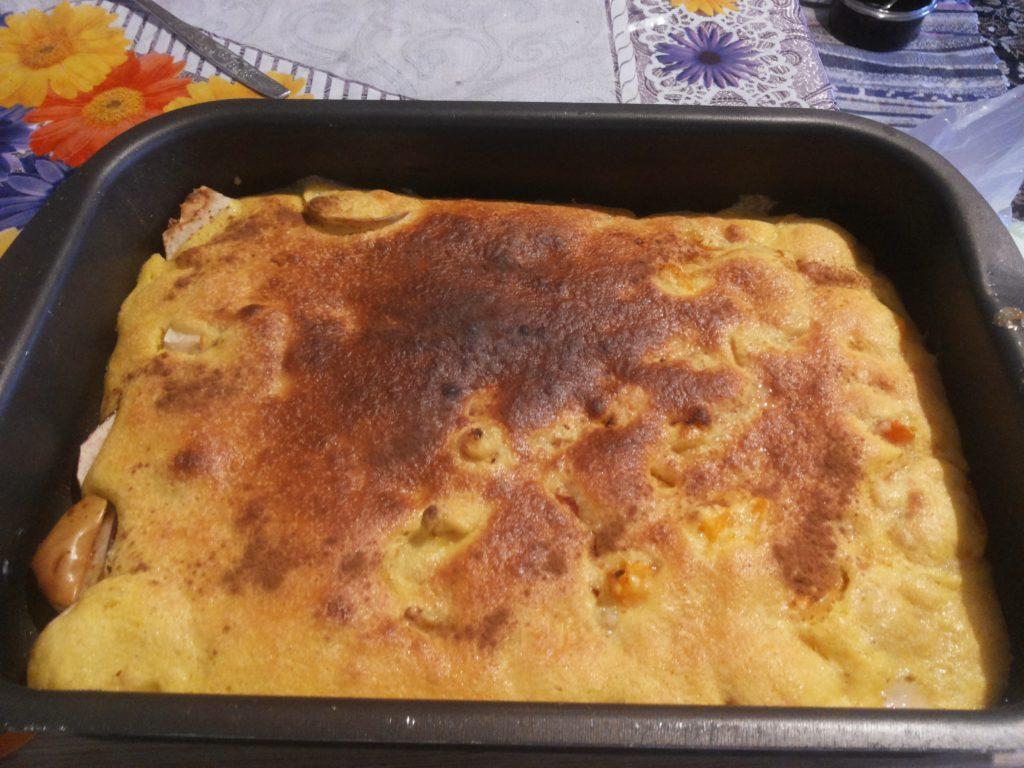 шарлотка с вареньем рецепт с фото в духовке