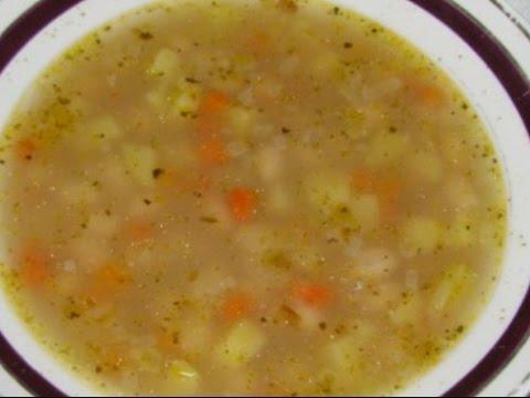 Гречневый суп без мяса как средство похудения и лечебное питание