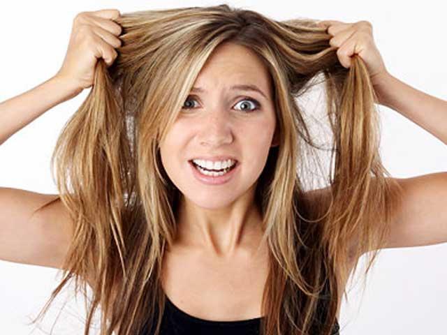 волосы секутся и выпадают
