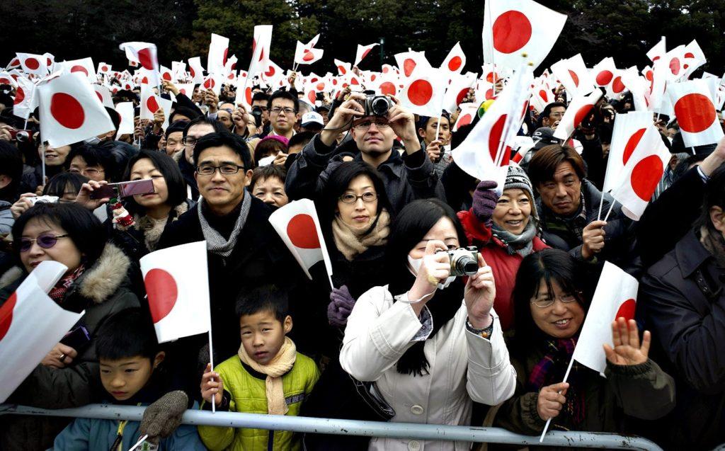 японцы фото