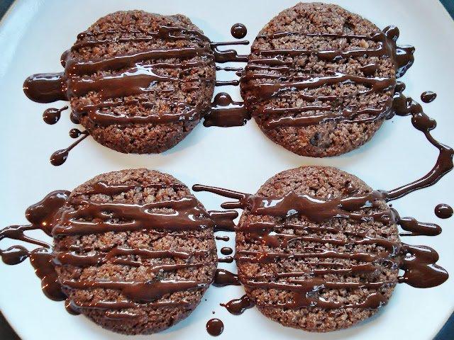 овсяное шоколадное печенье рецепт