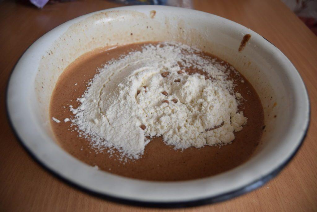 шоколадные кексы пошагово с фото