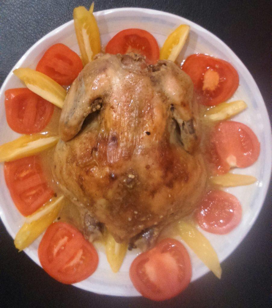 курица в рукаве рецепт с фото