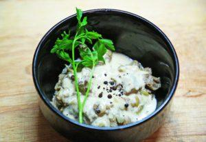 грибы в сливочном соусе рецепт пошагово