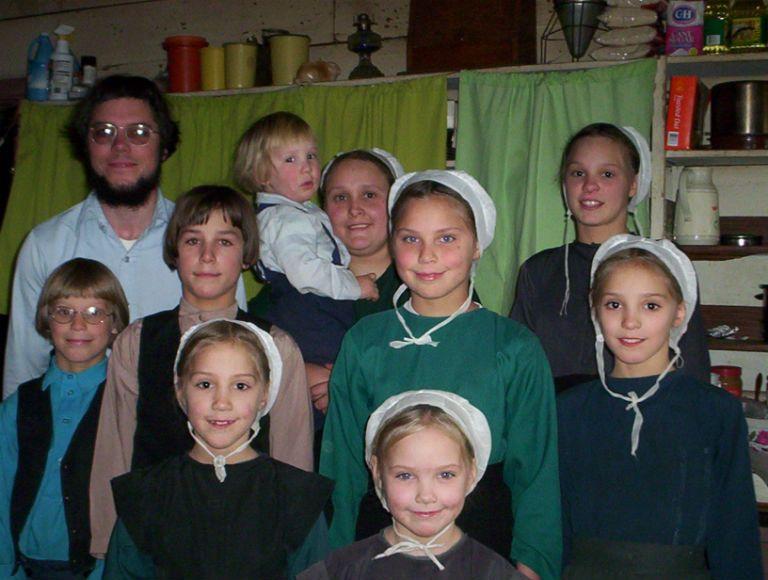Амиши подростки