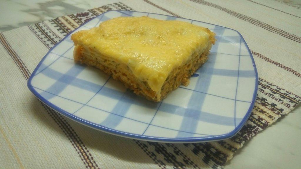 Лазанья с фаршем: рецепт с фото