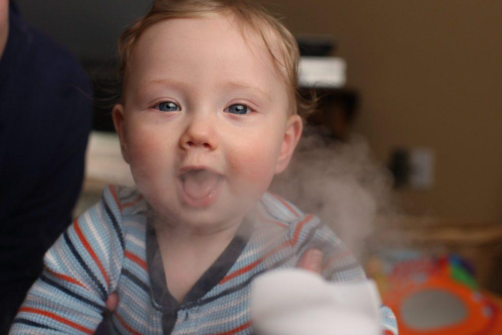 зачем нужен увлажнитель воздуха для ребенка