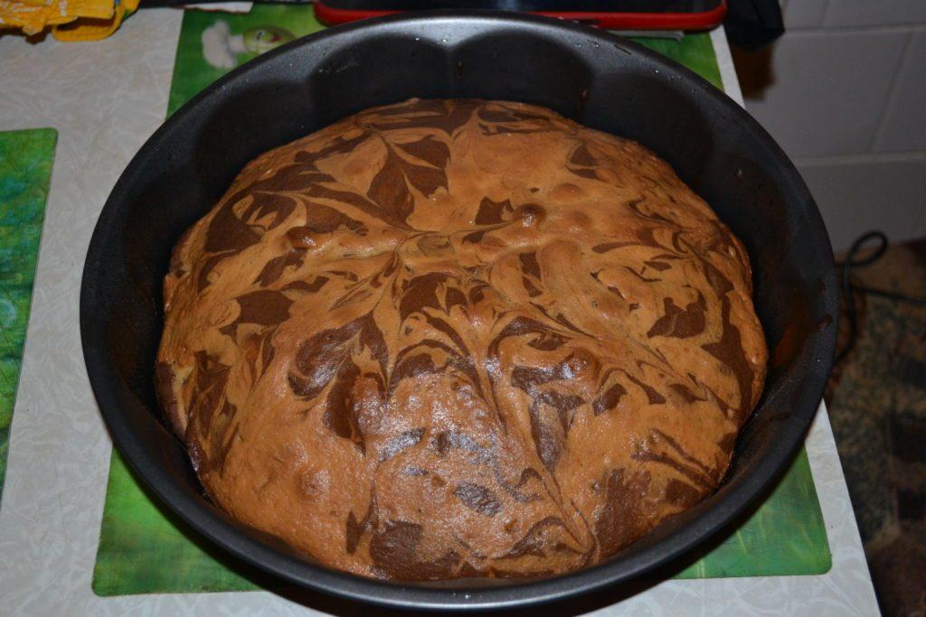торт зебра рецепт с фото