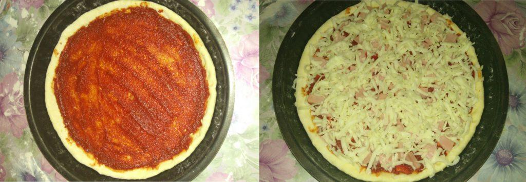 Домашняя пицца в духовке: рецепт с фото