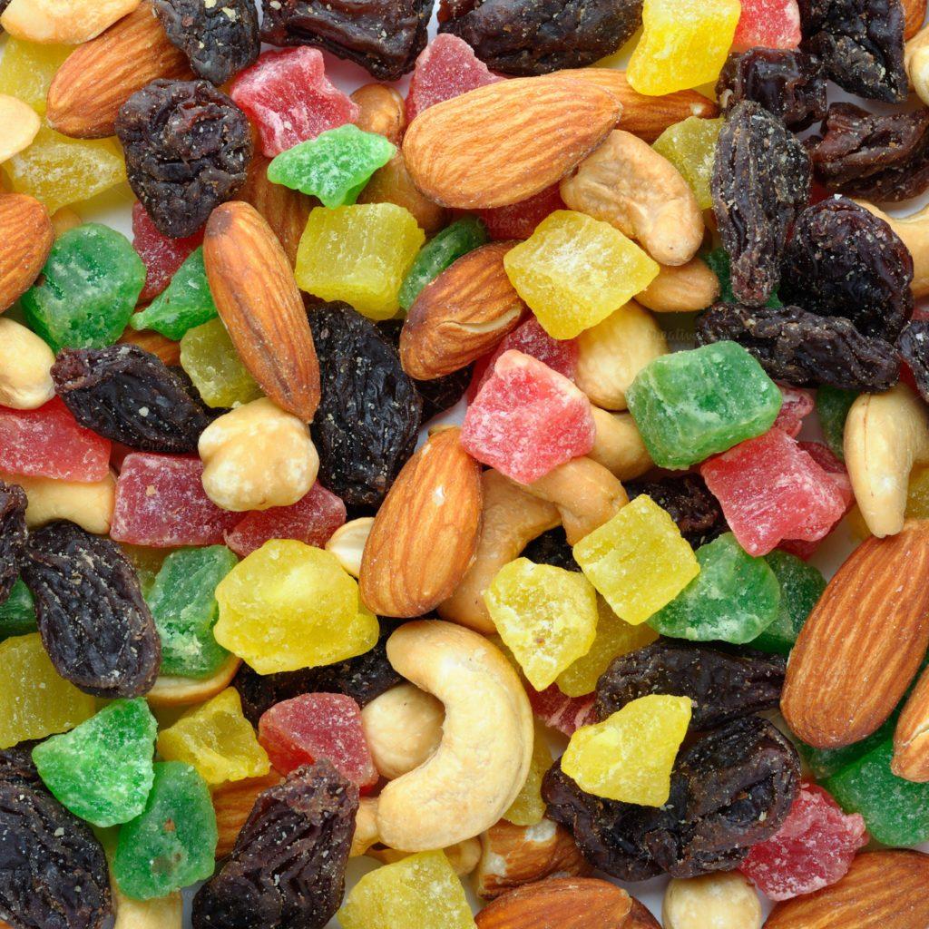 3. Правильное питание: сухофрукты