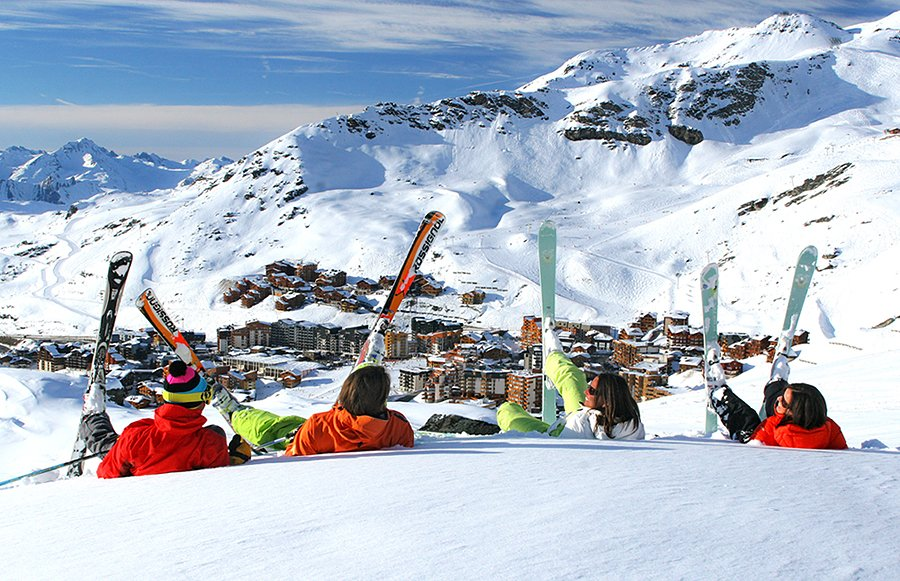 Франция зимой: первый снег и горные лыжи