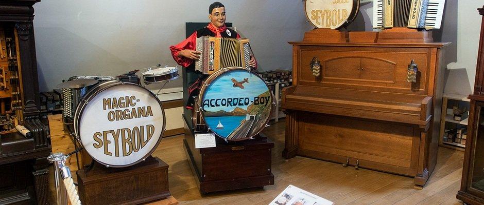 Музей механических музыкальных инструментов во Франции