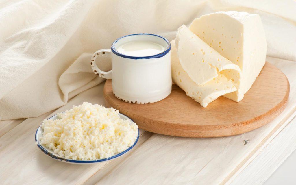 3. Правильное питание: молочные продукты
