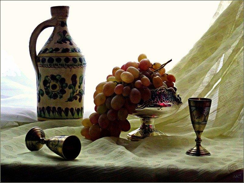 Виноградная наливка своими руками