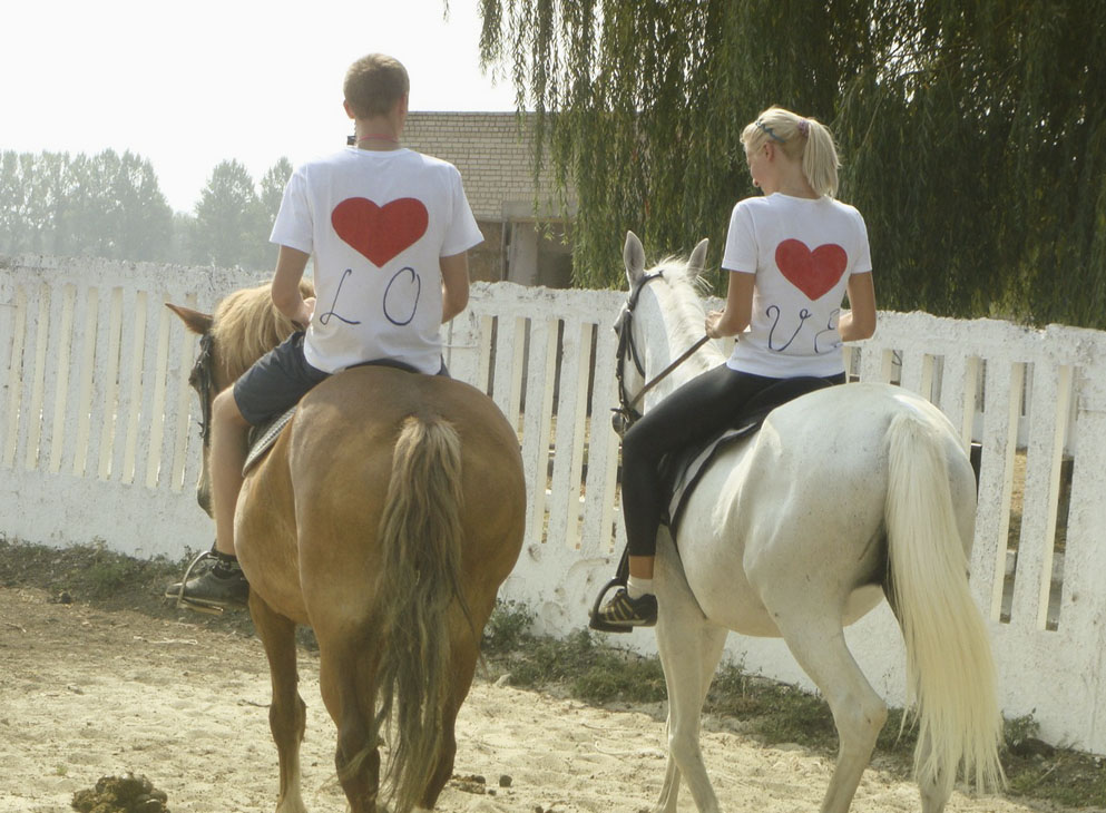 Идеи подарков на день святого Валентина: катание на лошадях