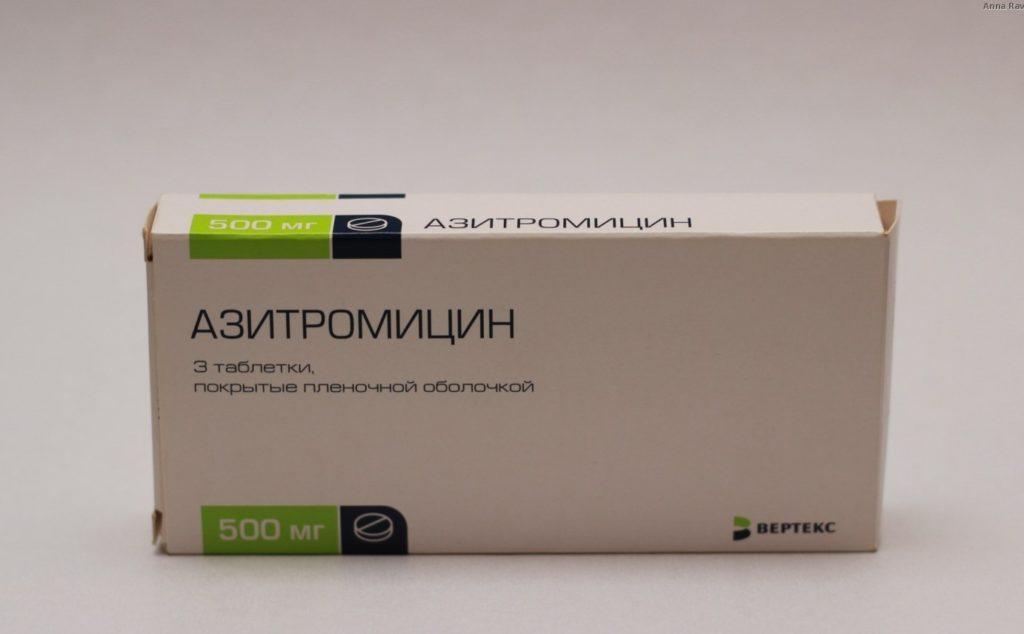 Азитромицин от чего помогает