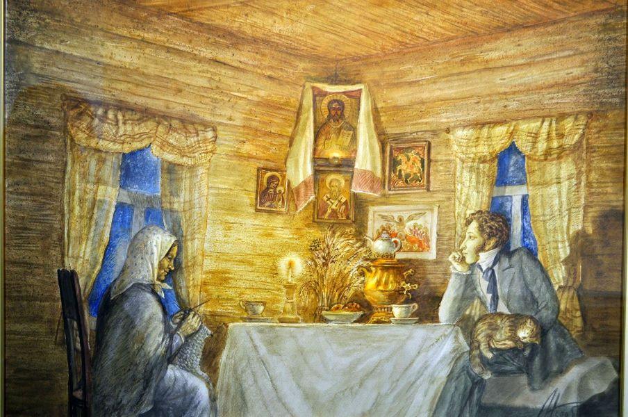 Арина Родионовна какую роль как личность играла в жизни А.С. Пушкина