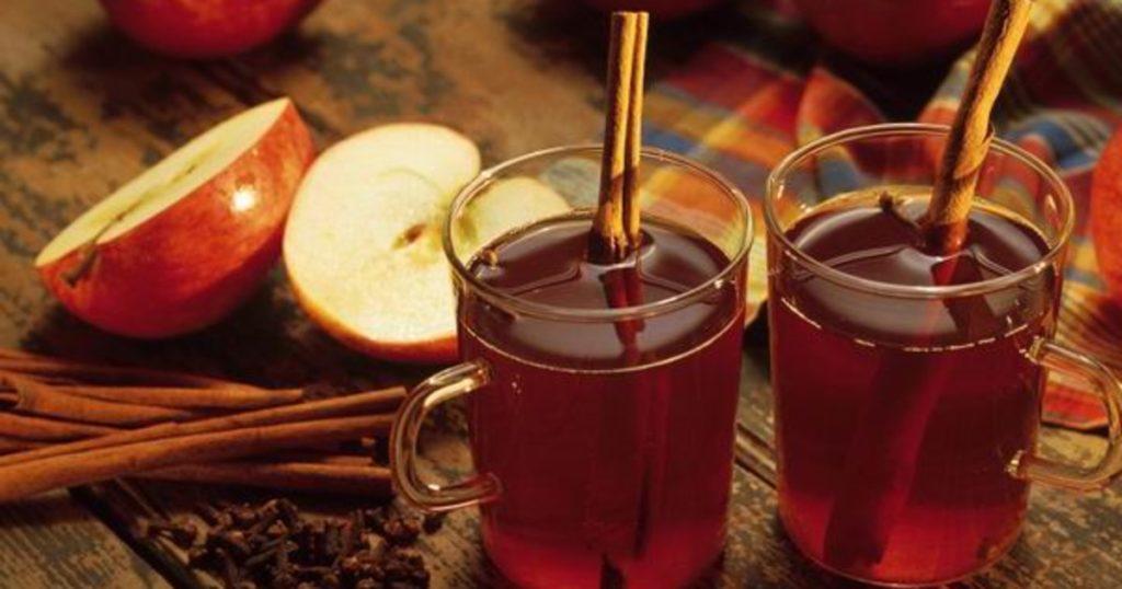 Рецепт глинтвейна классический с апельсином и яблоком в домашних условиях