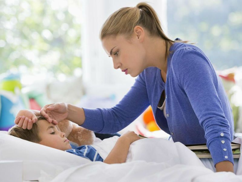 Температура при ротавирусной инфекции у детей