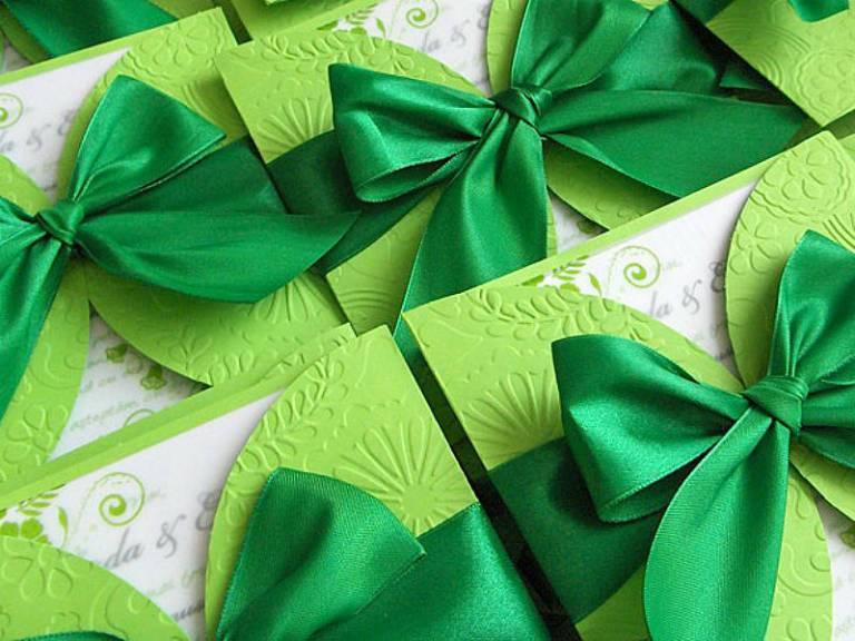 Годовщины свадеб по годам: зеленая свадьба