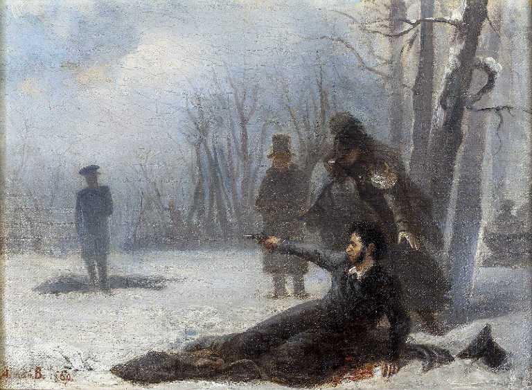 Дуэль и смерть Пушкина. Краткое содержание
