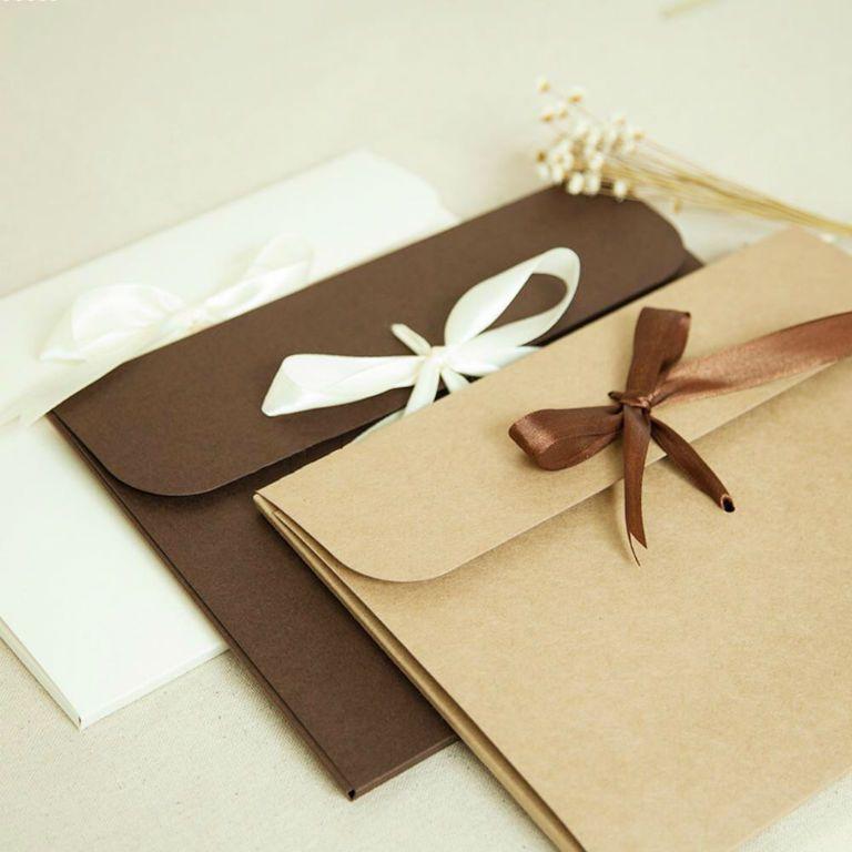 Во что упаковать подарок в домашних условиях