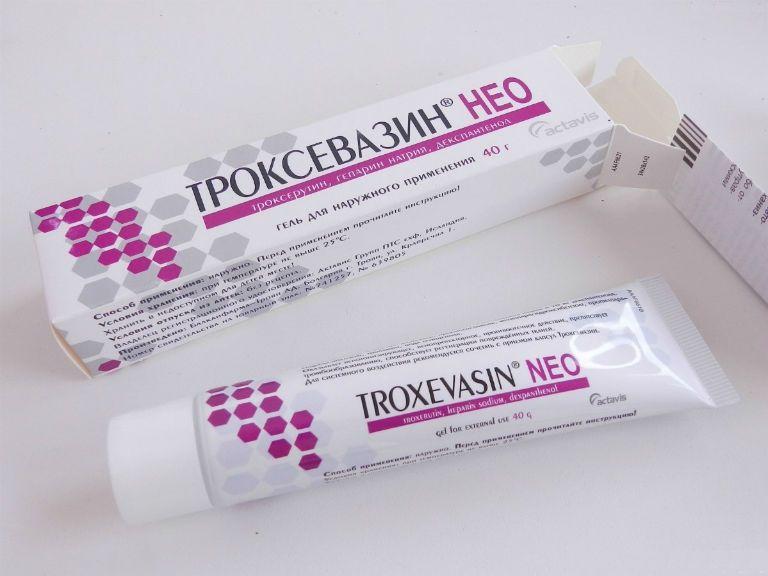 Варикоз лечение препарат Троксевазин