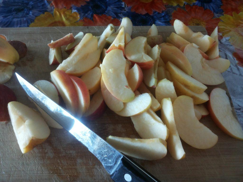 яблочная шарлотка шаг второй