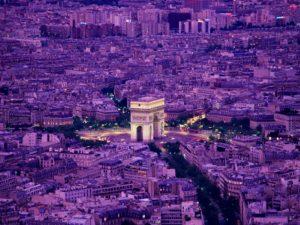 Париж Триумфальная арка