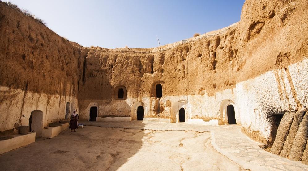 Тунис деревня Матмату