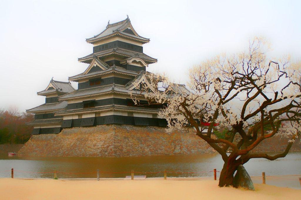 древние замки японии мацумото