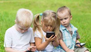 Вред мобильного телефона для детей