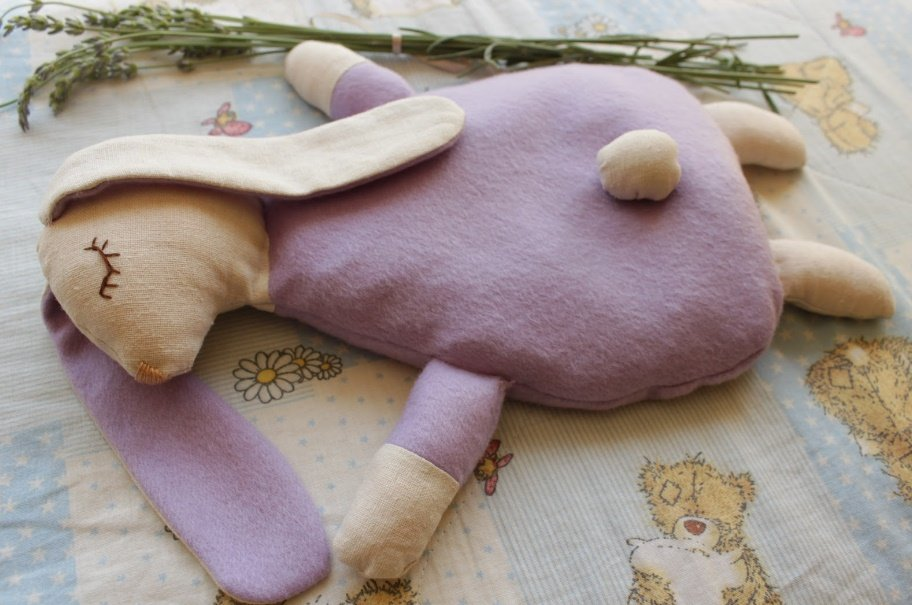 Игрушка грелка для новорожденных