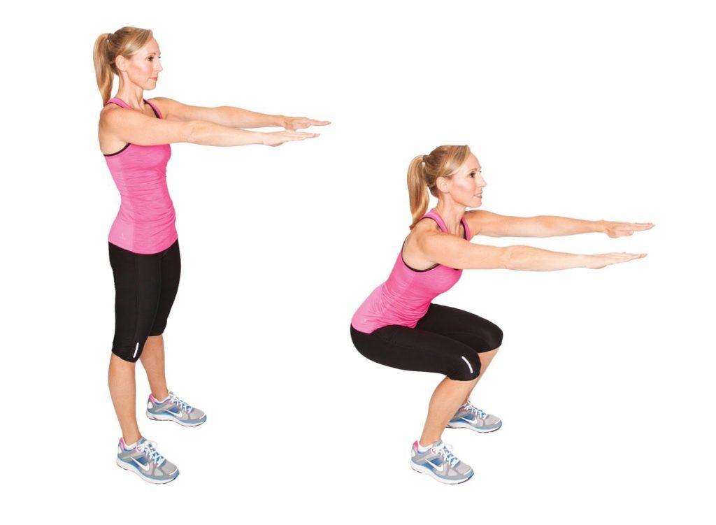 Простые упражнения для похудения живота и боков