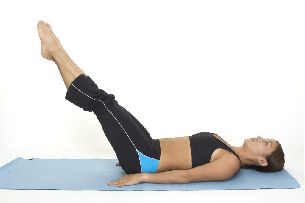 Упражнения для похудения живота средней сложности