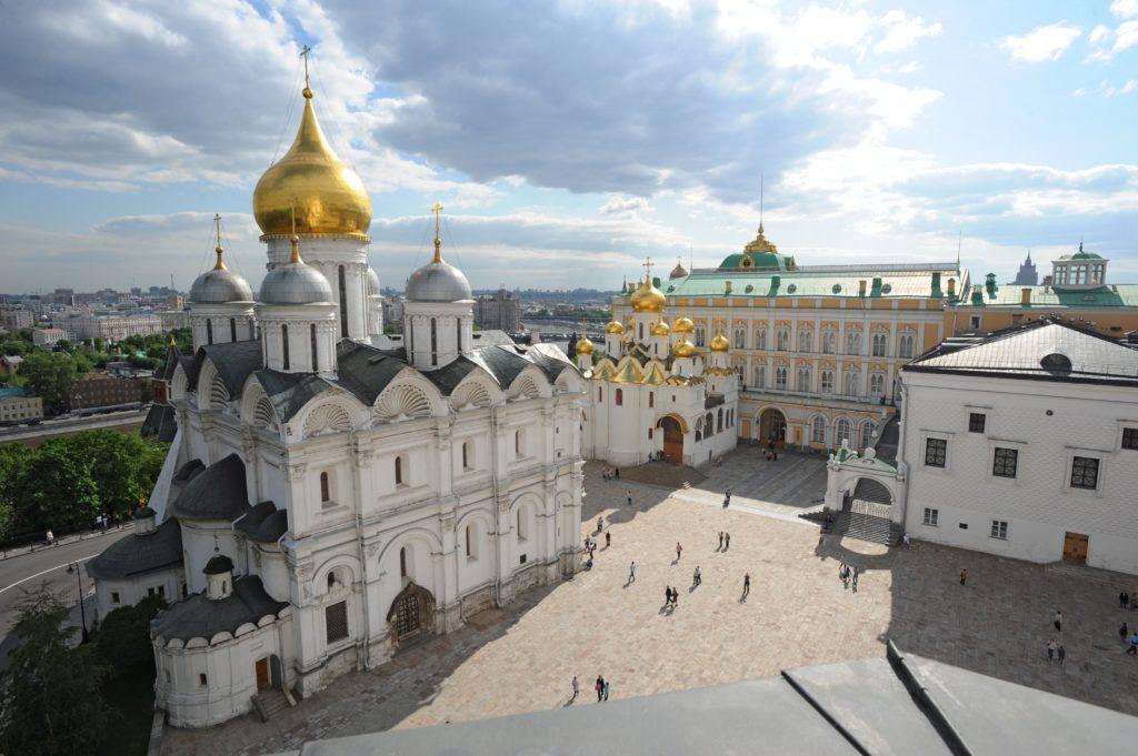 Достопримечательности Москвы куда стоит сходить: Архангельский собор
