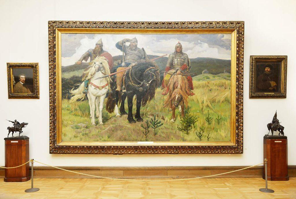 Достопримечательности Москвы куда стоит сходить: Третьяковская галерея