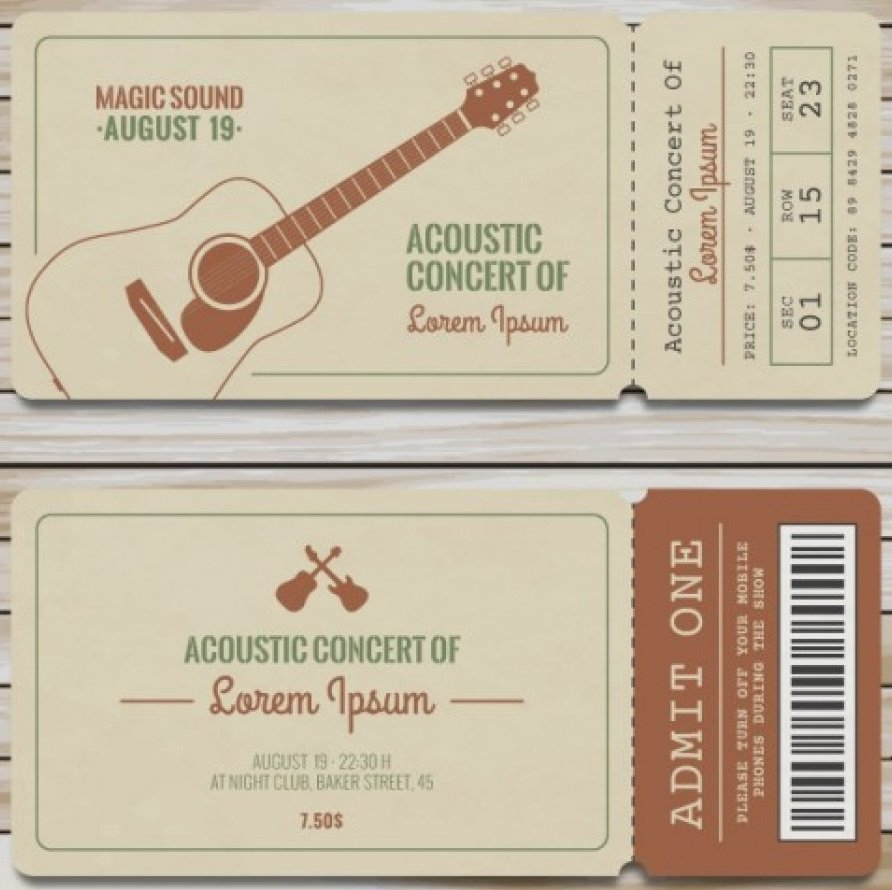 Что подарить парню на полгода отношений: билеты на концерт