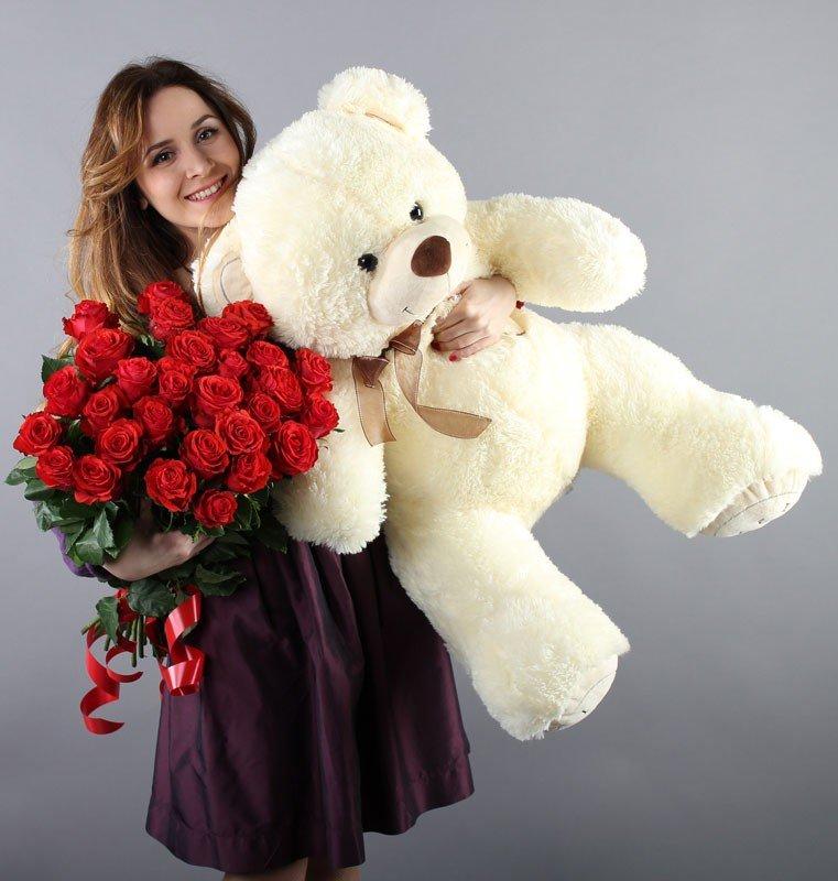 Идеи подарков на день святого Валентина: мягкая игрушка