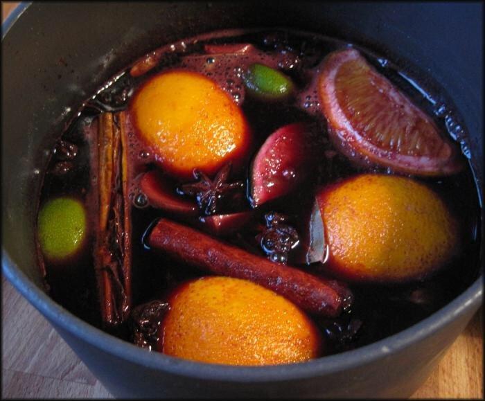 Рецепт глинтвейна классический пошагово с фото