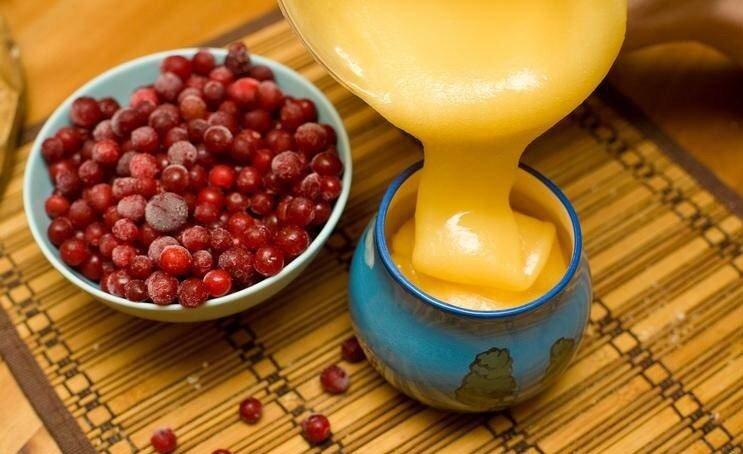 Клюква с медом полезные свойства