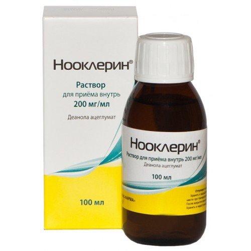 Глицин аналогичные препараты: нооклерин