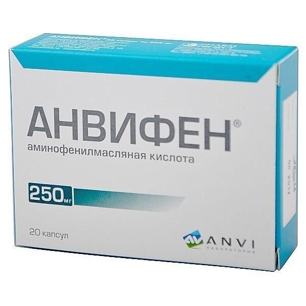 Фенибут аналоги препарата для детей: анвифем