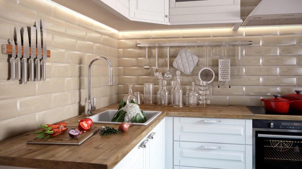 Белые кухни фото