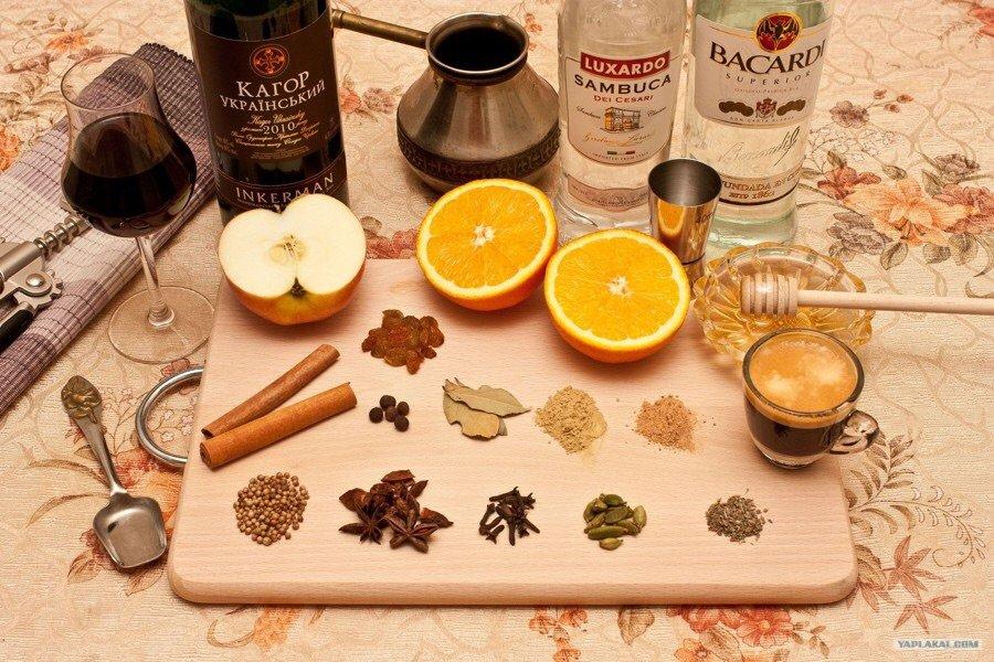 глинтвейн рецепт приготовления в домашних условиях