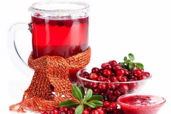 Лечебные свойства клюквы при простуде