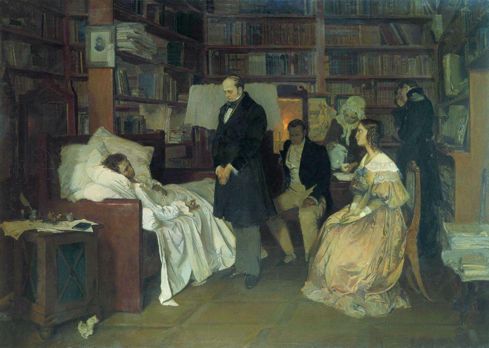 Дуэль Пушкина и Дантеса краткое содержание