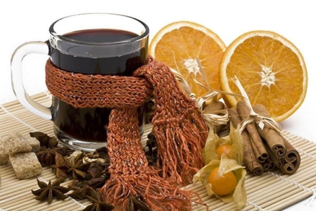 Рецепт глинтвейна в домашних условиях от простуды