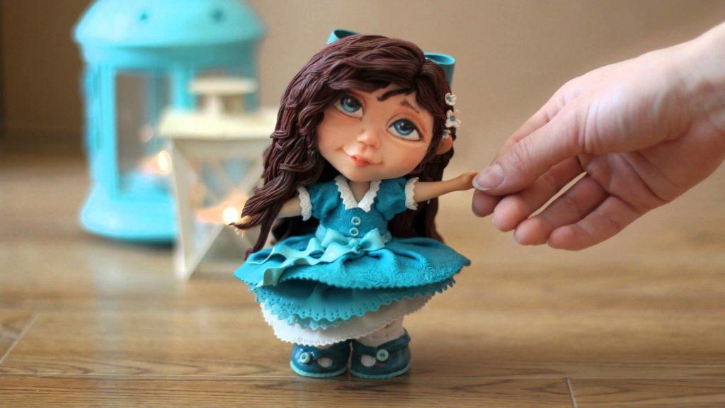 полимерная глина куклы