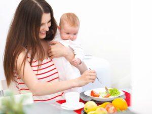 Питание при грудном вскармливании в первый месяц